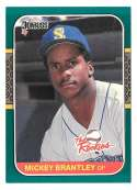 1987 Donruss Rookies - SEATTLE MARINERS Team Set