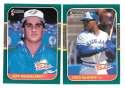 1987 Donruss Rookies - TORONTO BLUE JAYS Team Set