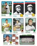 1973 Topps VG+ DETROIT TIGERS Team Set