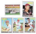 1970 Topps - VG+EX Condition WASHINGTON SENATORS Team Set (Rangers)