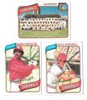 1980 Topps (VG+ Condition) ST LOUIS CARDINALS Team Set