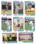 1974 Topps - LOS ANGELES DODGERS Near Team Set -2 VG+EX condition