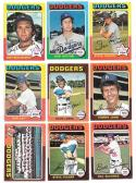1975 Topps VG Condition - LOS ANGELES DODGERS Team Set