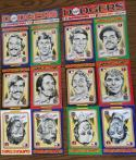 1976 Linnett SuperStars LOS ANGELES DODGERS Team Set
