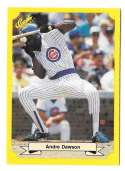 1987 Classic Yellow Update w/Green Back CHICAGO CUBS Team Set