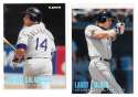 1996 Fleer TIFFANY - COLORADO ROCKIES Team Set