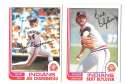 1982 O-Pee-Chee (OPC) - CLEVELAND INDIANS Team Set