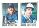 1982 O-Pee-Chee (OPC) - SEATTLE MARINERS Team Set