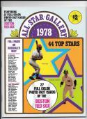 1978 SSPC (still in magazine) BOSTON RED SOX Team Set