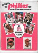 1978 SSPC (still in magazine) PHILADELPHIA PHILLIES Team Set some wear
