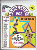 1978 SSPC (still in magazine) CALIFORNIA ANGELS Team set