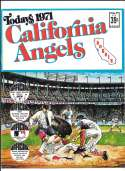 1971 Dell Today Stamps (Still in Albums) - CALIFORNIA ANGELS Team set