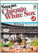 1971 Dell Today Stamps (Still in Albums) - CHICAGO WHITE SOX Team Set