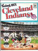 1971 Dell Today Stamps (Still in Albums) - CLEVELAND INDIANS Team Set