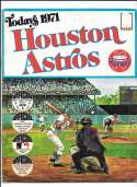 1971 Dell Today Stamps (Still in Albums) - HOUSTON ASTROS Team set