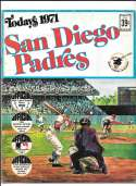 1971 Dell Today Stamps (Still in Albums) - SAN DIEGO PADRES Team Set