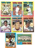 1975 Topps VG Condition - BOSTON RED SOX Team Set