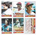 1979 TOPPS - BOSTON RED SOX Team Set