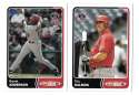 2003 Topps Total - ANAHEIM ANGELS Team Set