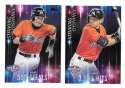 2016 Topps Opening Day Striking Distance - MIAMI MARLINS Team Set