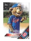2016 Topps Opening Day Mascots - CHICAGO CUBS