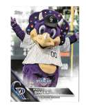 2016 Topps Opening Day Mascots - COLORADO ROCKIES