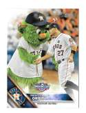 2016 Topps Opening Day Mascots - HOUSTON ASTROS