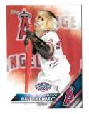 2016 Topps Opening Day Mascots - LOS ANGELES ANGELS
