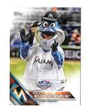 2016 Topps Opening Day Mascots - MIAMI MARLINS