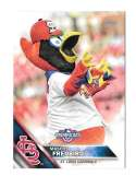 2016 Topps Opening Day Mascots - ST LOUIS CARDINALS