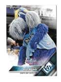 2016 Topps Opening Day Mascots - TAMPA BAY RAYS