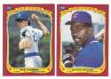 1986 Fleer Sticker - CHICAGO CUBS Team Set