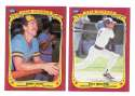 1986 Fleer Sticker - MILWAUKEE BREWERS Team Set