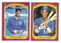 1986 Fleer Sticker - NEW YORK METS Team Set