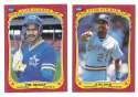 1986 Fleer Sticker - SEATTLE MARINERS Team Set
