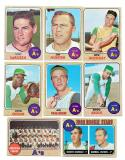 1968 TOPPS - OAKLAND A's Team set EX Condition