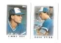 1986 Topps Mini Leaders TORONTO BLUE JAYS Team Set