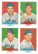 1954 Red Heart Reprints - CHICAGO CUBS Team Set