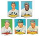 1954 Red Heart Reprints - CHICAGO WHITE SOX Team Set