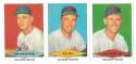 1954 Red Heart Reprints - CINCINNATI REDS Team Set