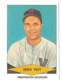 1954 Red Heart Reprints - WASHINGTON SENATORS Team Set