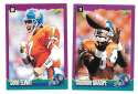 1994 Score Football Team Set - DENVER BRONCOS