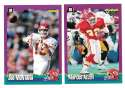 1994 Score Football Team Set - KANSAS CITY CHIEFS