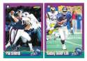 1994 Score Football Team Set - NEW YORK GIANTS