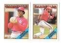 1988 O-Pee-Chee (OPC) - ST LOUIS CARDINALS Team Set