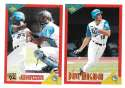 1994 Score Rookies and Traded - FLORIDA MARLINS Team Set