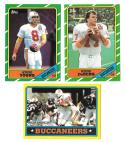 1986 Topps Football Team Set - TAMPA BAY BUCCANEERS w/ STEVE YOUNG RC