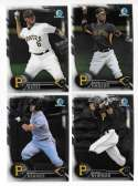 2016 Bowman Chrome Prospects - PITTSBURGH PIRATES Team Set