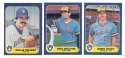 1986 FLEER - MILWAUKEE BREWERS Team Set
