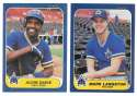 1986 FLEER - SEATTLE MARINERS Team Set